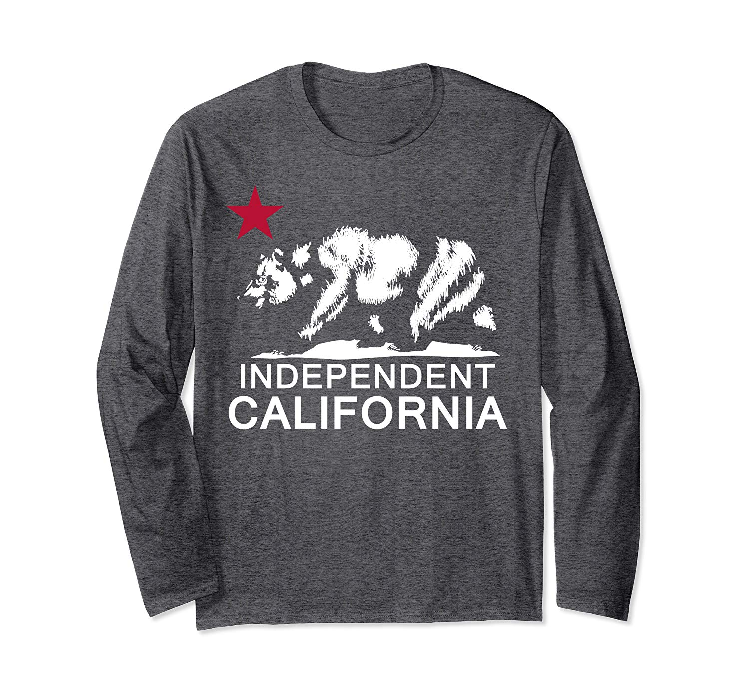INDEPENDENT CALIFORNIA Yes, Make California Its Own Country Long Sleeve T-Shirt